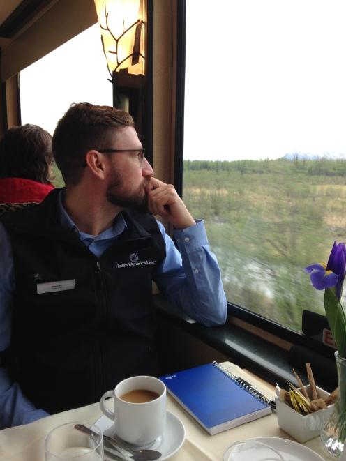 McKinley Explorer train from Anchorage to Denali.